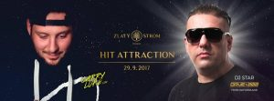 29.9.2017  HIT Attraction with special guest Dave202 – Music Club Zlatý Strom