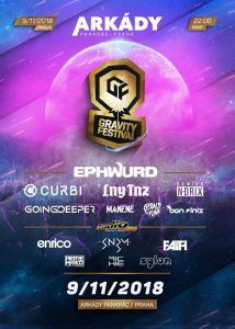9.11.2018 Gravity Festival – Arkády Pankrác
