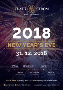 31.12.2018 New Years Eve 2018 – Music Club Zlatý Strom