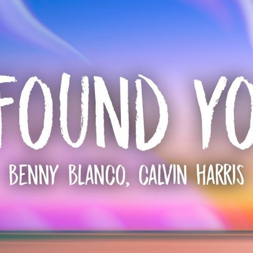 Benny Blanco, Calvin - Harris - I Found You (Redrum Extended Remix